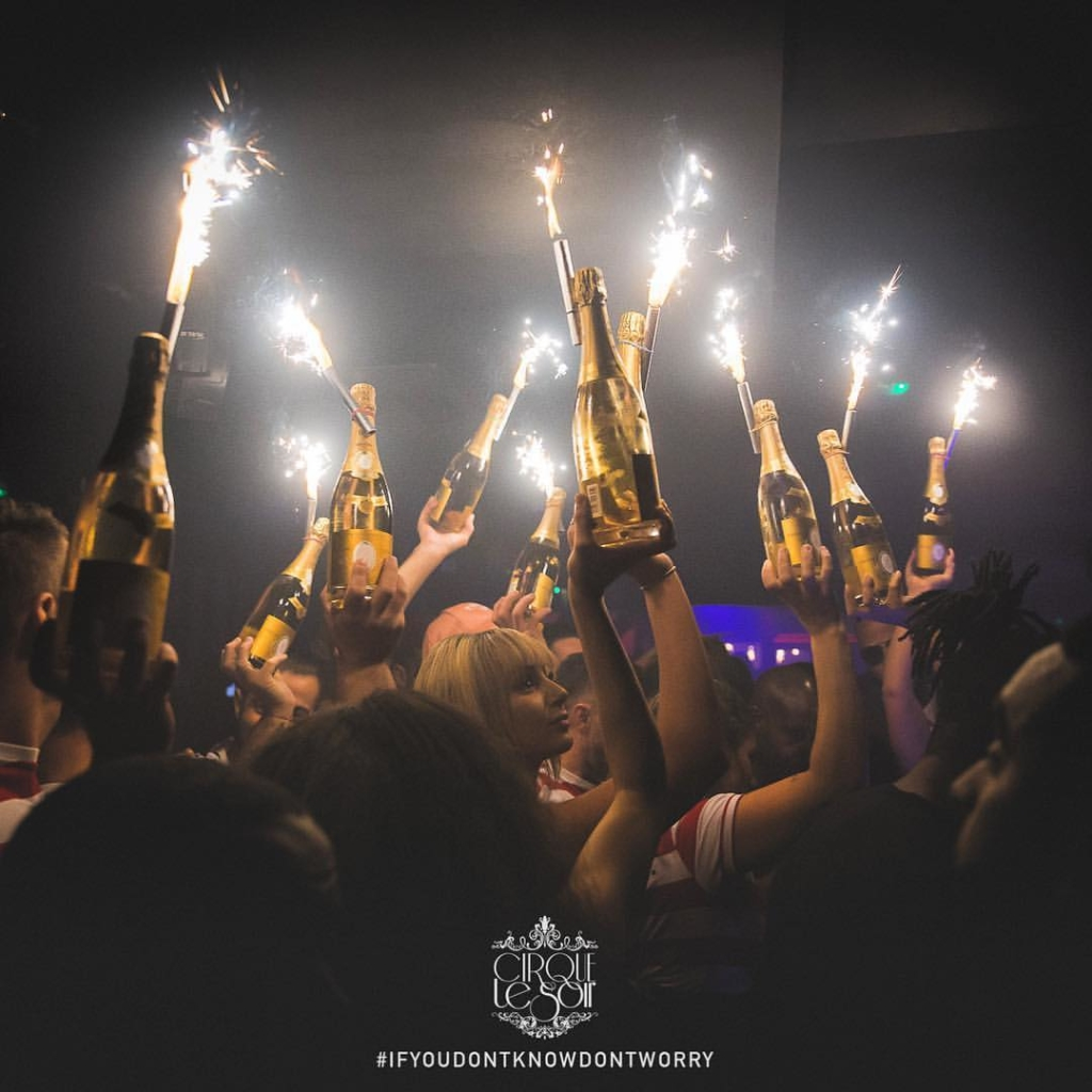 Party at cirque le soir London