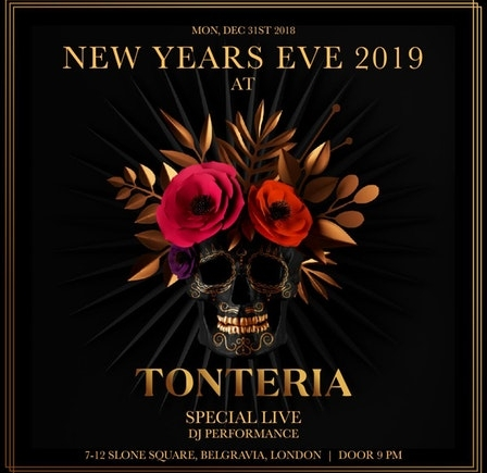 Booking for New Year's Eve at Tonteria 2020