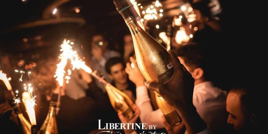 Saturday – Paris to London – Libertine by Chinawhite