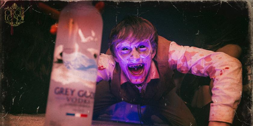 halloween at cirque le soir