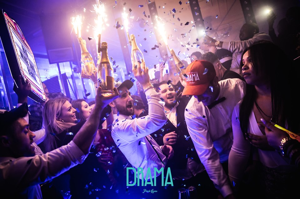 new year's parties at london drma park lane