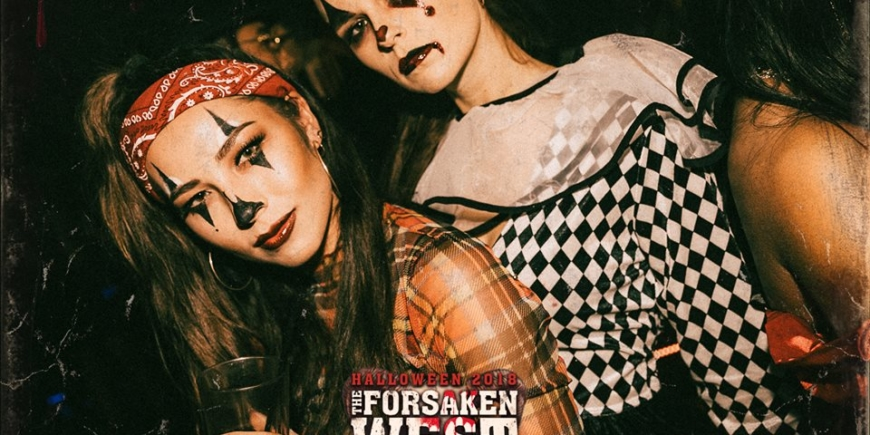 halloween booking at cirque le soir