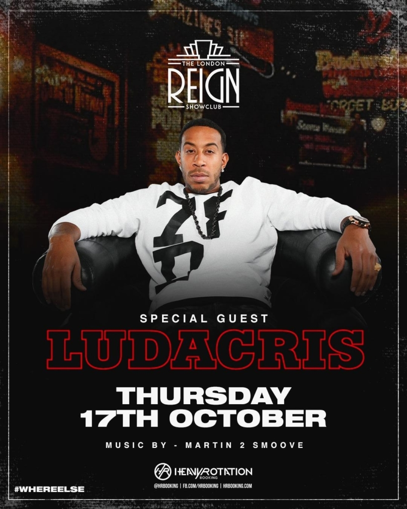 ludacris at london reign showclub