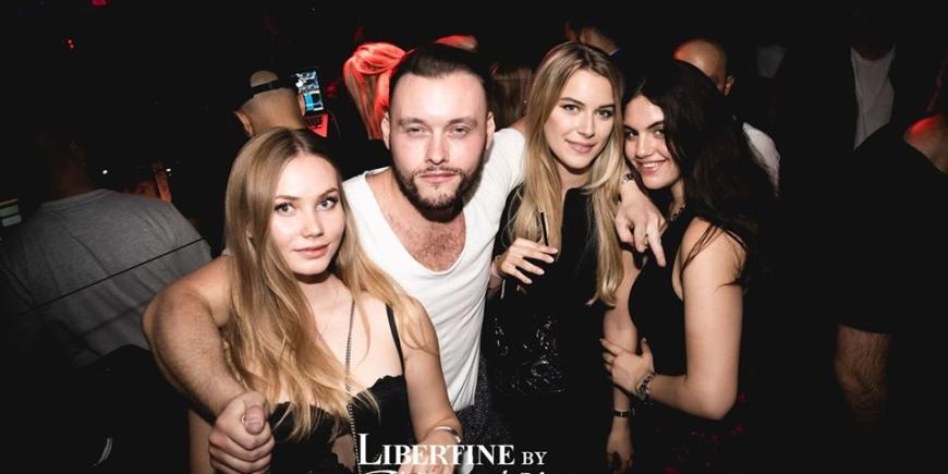 VIP table booking at libertine